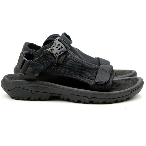 221c4930224 Teva Hurricane Volt Black Sport Sandals NEW!